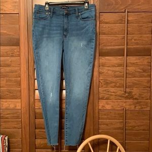 J. Crew Factory (Mercantile) High waisted jeans
